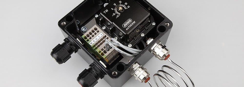Jak sterować ogrzewaniem elektrycznym w wykonaniu przeciwwybuchowym Ex?