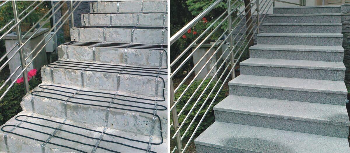 Jak ogrzać schody zewnętrzne?